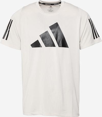 ADIDAS PERFORMANCE T-Shirt 'FreeLift' in hellgrau / schwarz, Produktansicht