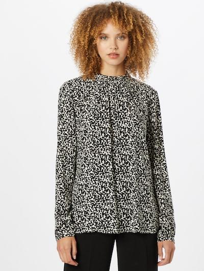 Bluză Esprit Collection pe negru / alb murdar, Vizualizare model