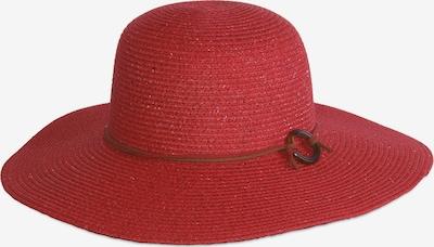MJM Hut 'Frida' in rot, Produktansicht