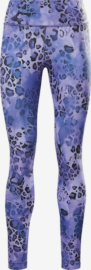 Sportinės kelnės iš REEBOK , spalva - indigo spalva / alyvinė spalva / juoda, Prekių apžvalga