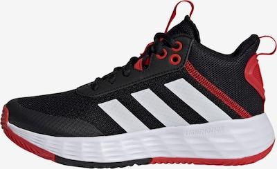 ADIDAS PERFORMANCE Sportschoen 'Ownthegame 2.0' in de kleur Rood / Zwart / Wit, Productweergave