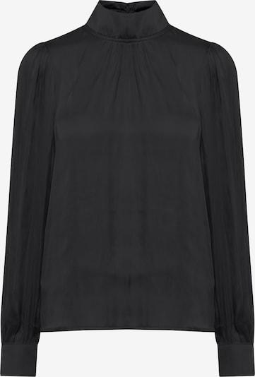 PULZ Jeans Langarmbluse PZDOROTA in schwarz, Produktansicht