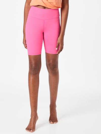 Hey Honey Športové nohavice - neónovo ružová / biela, Model/-ka