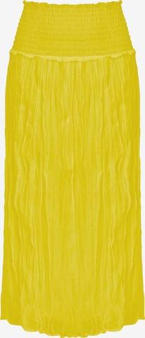Finn Flare A-Linien-Rock in Yellow