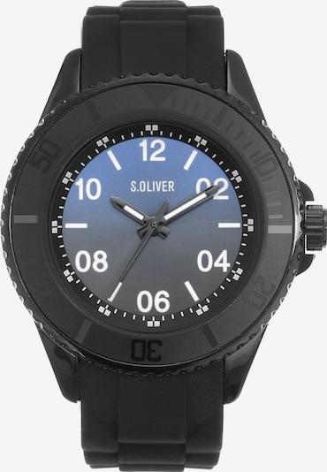 s.Oliver Quarzuhr 'SO-4257-PQ' in schwarz / weiß, Produktansicht