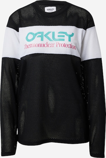 OAKLEY Tehnička sportska majica u crna / bijela, Pregled proizvoda