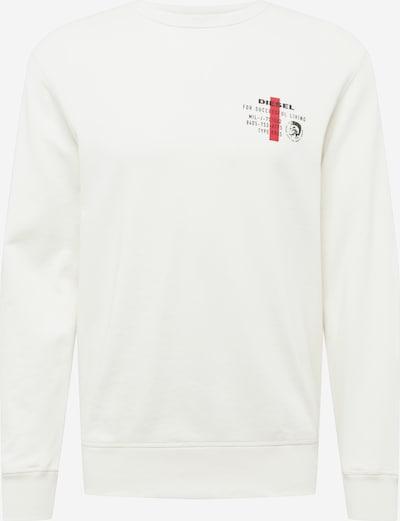 DIESEL Sweat-shirt 'Willy' en blanc, Vue avec produit