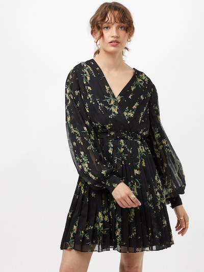 Ted Baker Kleid 'Izziiy' in gelb / hellgrün / schwarz, Modelansicht