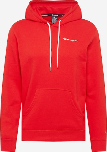 Champion Authentic Athletic Apparel Sweatshirt in de kleur Knalrood / Wit, Productweergave