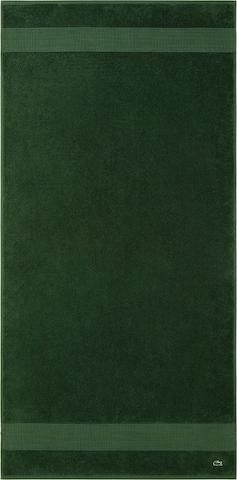 LACOSTE Shower Towel 'LE CROCO' in Green