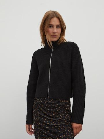 EDITED Πλεκτή ζακέτα 'Katharina' σε μαύρο