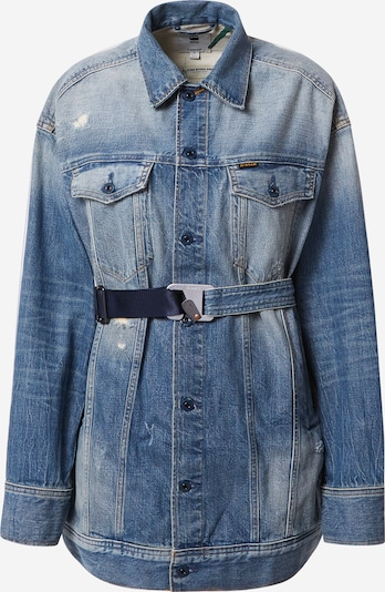 G-Star RAW Jacke 'Boyfriend' in blue denim, Produktansicht