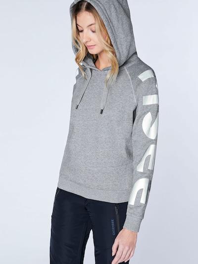 CHIEMSEE Sport-Sweatshirt 'DENALI' in graumeliert: Frontalansicht