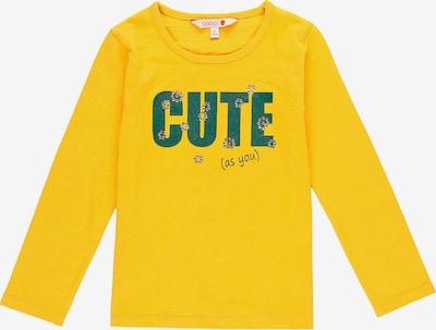 BÒBOLI Shirt in gelb / smaragd, Produktansicht