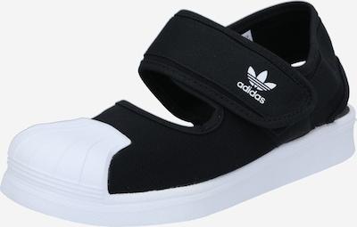 ADIDAS ORIGINALS Zapatos abiertos 'Superstar 360' en negro / blanco, Vista del producto