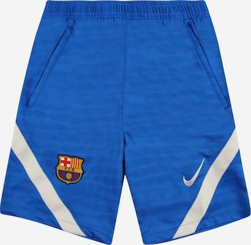 NIKE Spordipüksid 'FC Barcelona Strike', värv sinine
