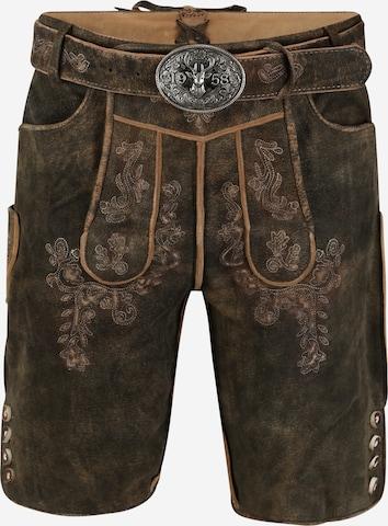 Pantalon folklorique Krüger Madl en marron