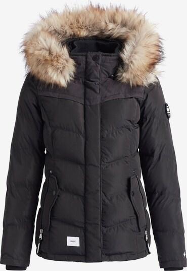 khujo Veste d'hiver ' WINSEN5 ' en noir, Vue avec produit
