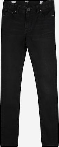 Jack & Jones Junior Teksapüksid 'Idan', värv must