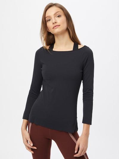 NIKE Funkčné tričko - čierna: Pohľad spredu