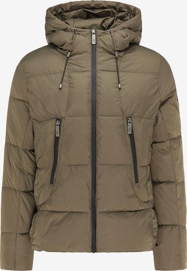 MO Winterjas in de kleur Olijfgroen, Productweergave