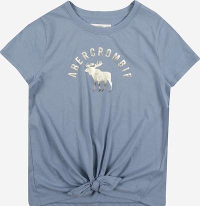 Abercrombie & Fitch T-Shirt in taubenblau / silber, Produktansicht