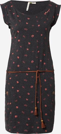 Ragwear Kleid 'Tag B Organic II' in orange / pink / schwarz, Produktansicht