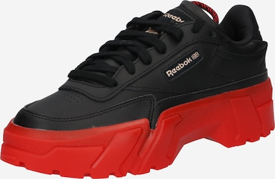 Reebok Classic Sneakers low 'Cardi B Club C' in Red / Black, Item view