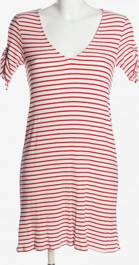 MANGO Shirtkleid in S in rot / weiß, Produktansicht