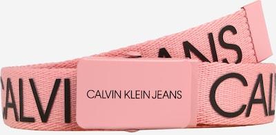 Calvin Klein Jeans Ceinture en rose ancienne / noir, Vue avec produit