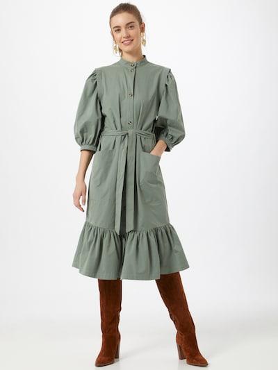 BRUUNS BAZAAR Košilové šaty - olivová, Model/ka
