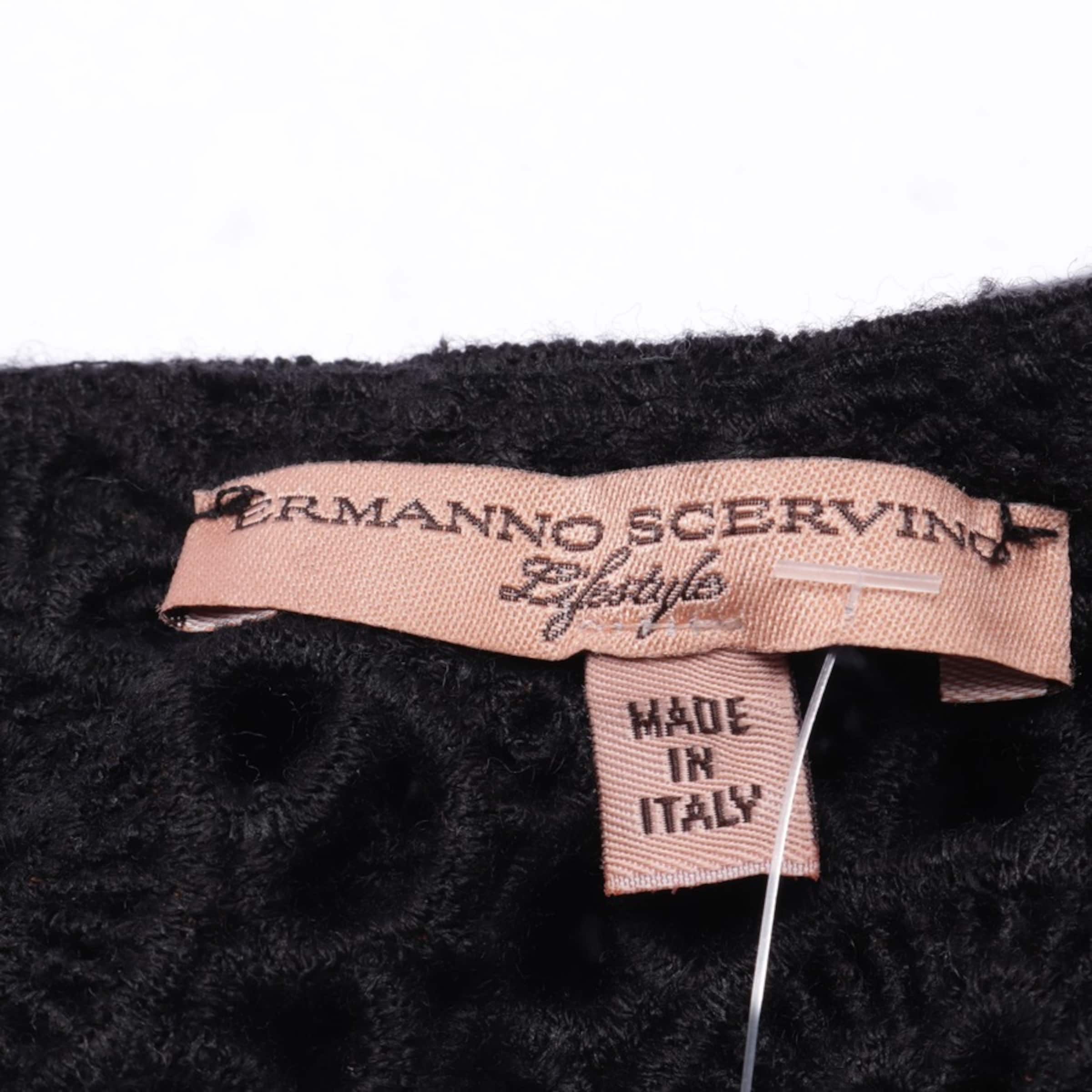 Ermanno Scervino Strickkleid in 36 in schwarz