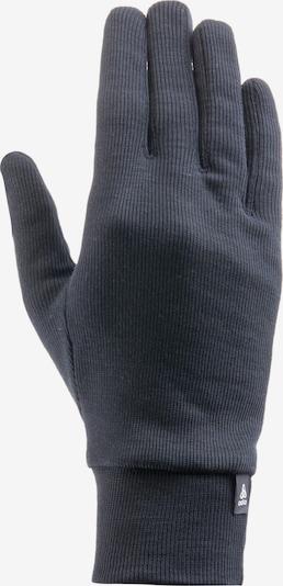 ODLO Athletic Gloves in Black / White, Item view