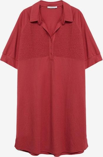 VIOLETA by Mango Obleka | vinsko rdeča barva, Prikaz izdelka