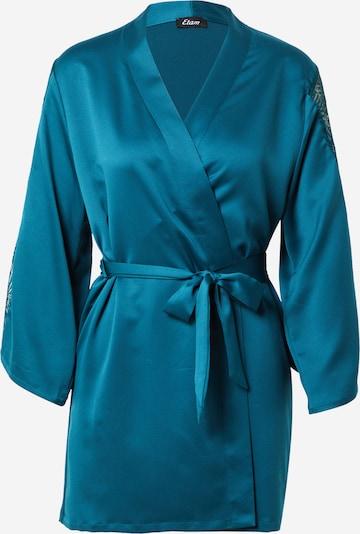 ETAM Robe de chambre 'ESCALE' en turquoise, Vue avec produit