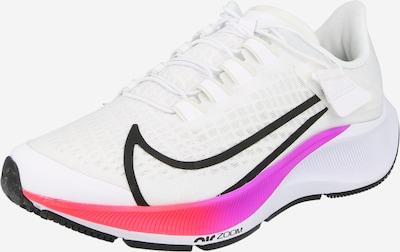 NIKE Chaussure de course 'Air Zoom Pegasus' en bleu roi / bleu néon / violet néon / noir / blanc, Vue avec produit