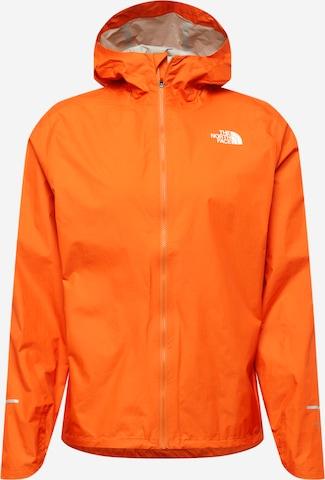 Geacă outdoor de la THE NORTH FACE pe portocaliu