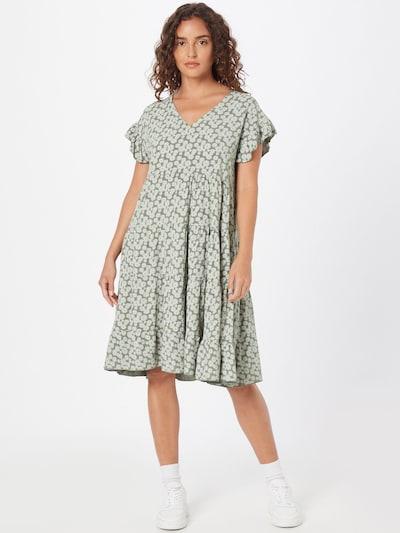 Hailys Kleid 'Jolene' in limone / khaki / weiß, Modelansicht