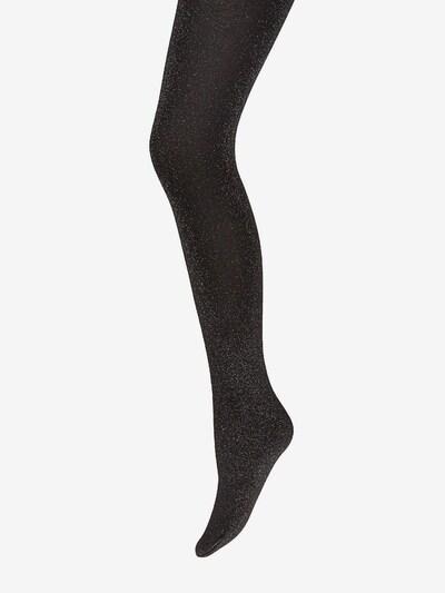 Wolford Collant 'Selene' en noir / argent, Vue avec produit