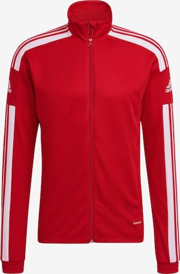ADIDAS PERFORMANCE Trainingsjacke 'Squadra 21' in rot / weiß, Produktansicht
