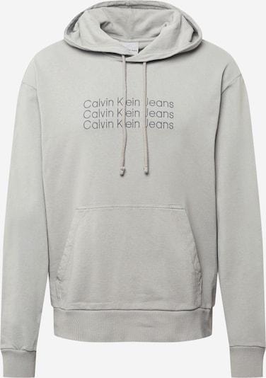 Calvin Klein Jeans Sweat-shirt '90'S INSTITUTIONAL' en gris, Vue avec produit