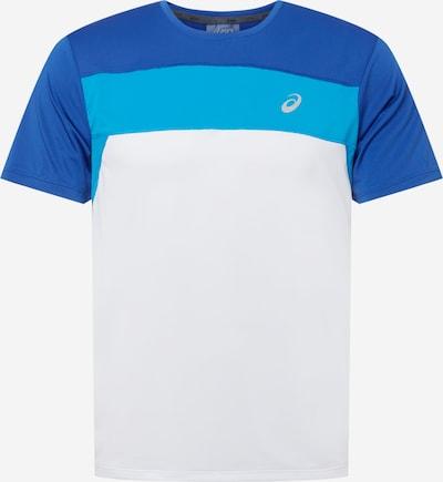 ASICS Shirt 'RACE' in royalblau / himmelblau / weiß, Produktansicht