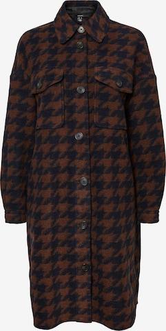 VERO MODA Between-seasons coat 'Chrissie' in Brown