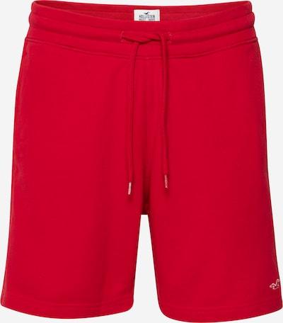 HOLLISTER Pantalon en rouge feu / blanc, Vue avec produit