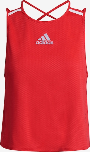 ADIDAS PERFORMANCE Sports Top in Red / White, Item view