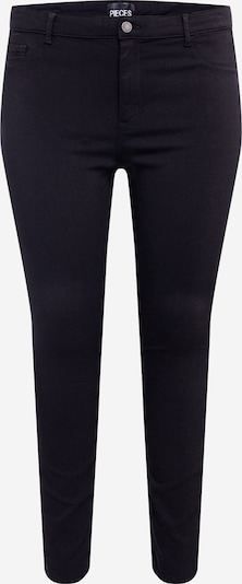PIECES (Curve) Jeggings in black denim, Produktansicht