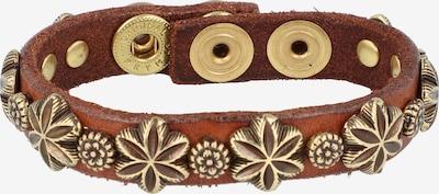 Campomaggi Armband in de kleur Bruin / Goud, Productweergave