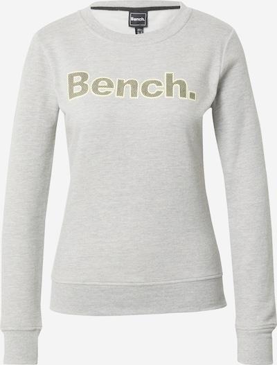 BENCH Sweatshirt 'RAINA' in Yellow / mottled grey / Black, Item view