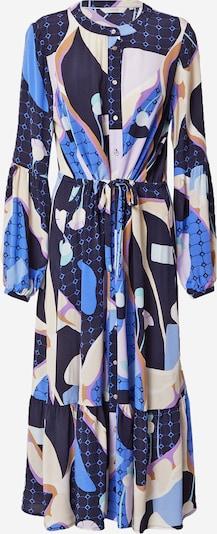 NÜMPH Рокля тип риза 'Nucasey' в синьо / нощно синьо / светлолилаво / бяло, Преглед на продукта