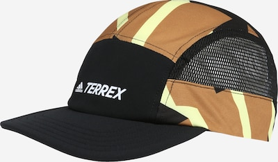 ADIDAS PERFORMANCE Gorra deportiva en caramelo / amarillo claro / negro / blanco, Vista del producto
